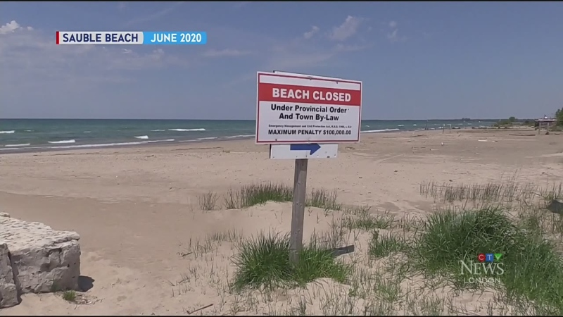 Huron County seeks 'unified' beach closures