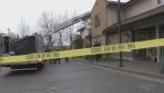 Fire at Hope Co-Op in Sudbury