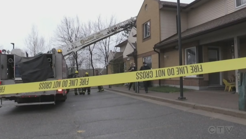 Fire at Hope Co-Op in Sudbury