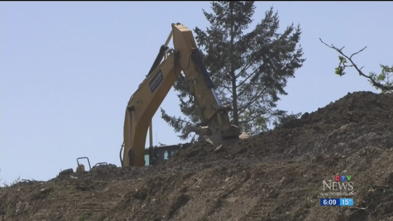 Rural areas concerned with construction debris