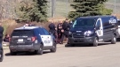 EPS arrested three wanted men for various offences allegedly committed in Meadow Lake, Saskatchewan (Courtesy of Heather Hodgson)