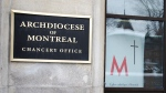 The Chancery of the Archdiocese of Montreal is seen Monday, February 15, 2021 in Montreal. The archdiocese is launching an initiative to thoroughly investigate sexual abuse in its ranks.THE CANADIAN PRESS/Ryan Remiorz