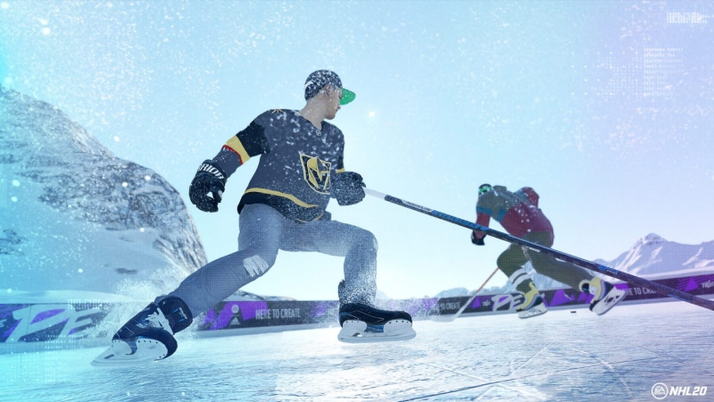 A screenshot from NHL 20. (www.ea.com)