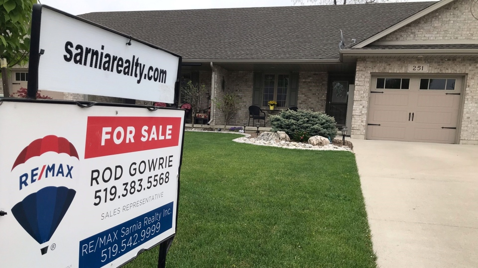 A home for Sale in Sarnia