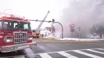 Fire crews at the scene of an electrical fire at the Dairy Queen in the 1900 block of Centre St. N.E. on Oct. 8, 2019.