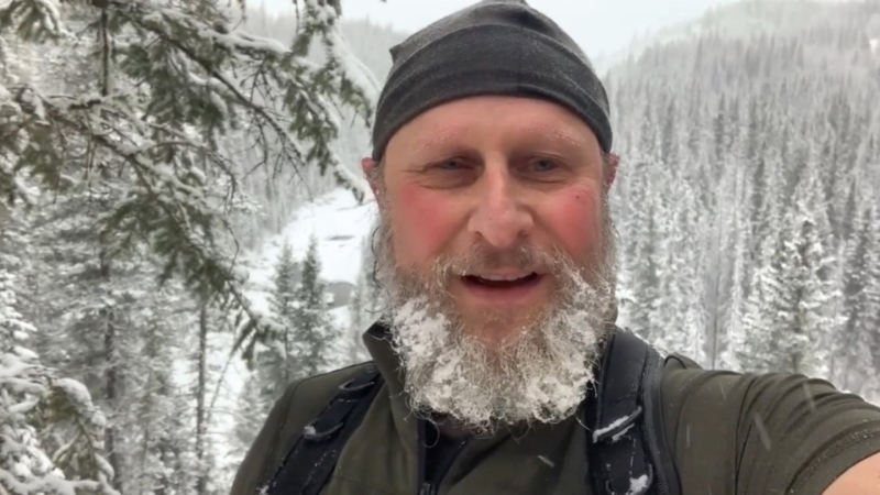 Dr. David Lertzman has been identified as the man killed in an apparent bear attack near Waiparous. (Facebook)