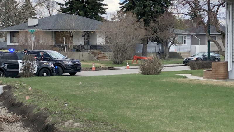 Police are investigating after a person was taken to hospital following a reported shooting in northwest Calgary.