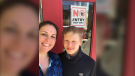 "Meghan Cross (left) says she's been ""waiting"" for word her 13-year-old son Jacob Howard will be eligible to receive the COVID-19 vaccine. (Photo courtesy: Meghan Cross)"