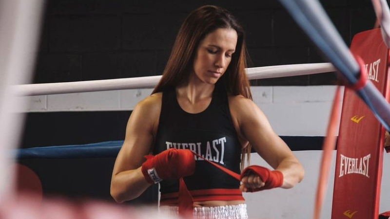 Kitchener boxer Mandy Bujold. (Supplied by Mandy Bujold)