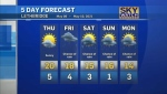 CTV Lethbridge Weather at 5 for Wednesday, May 5,
