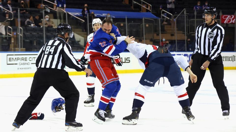 New York Rangers' Anthony Bitetto