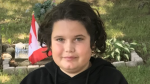 Connor Duncan, 14, was last seen in London, Ont. on May 1 and may have made it to Montreal. (Supplied)