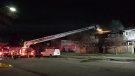 Three units at Ormsby Place Condominiums at 185 Street and 66 Avenue were damaged in a blaze on May 6, 2021, officials on scene said: two by fire, one by smoke.