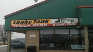The Leaky Tank Truck Stop is seen in this photo from 2013 from their Facebook page.