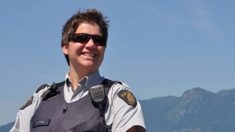 Alice Fox served as an RCMP officer in B.C. for more than a decade. (Submitted)