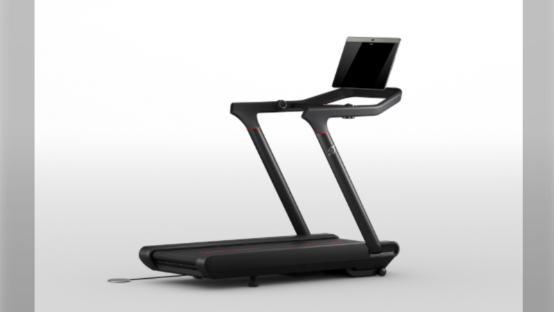 An image of the Peloton TR02 model treadmill (Health Canada)