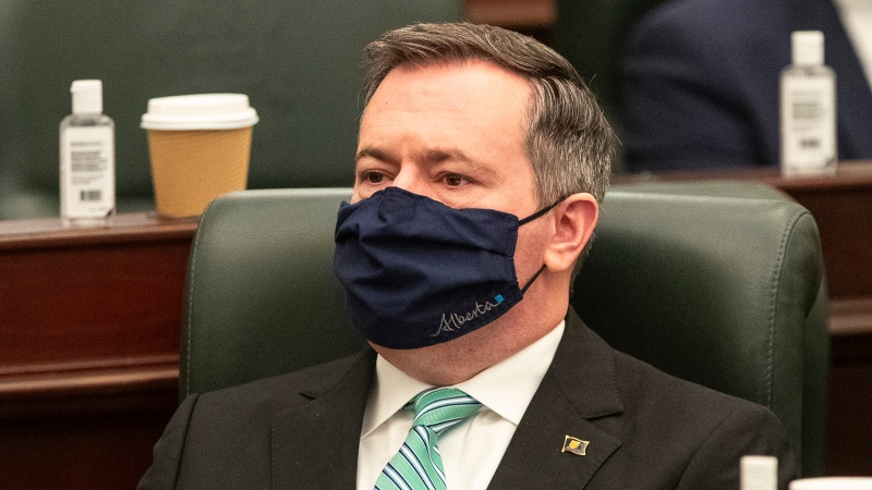 UCP MLA Todd Loewen is calling for  the removal of Premier Kenney, saying the premier is the 'primary source of dysfunction'. (file)