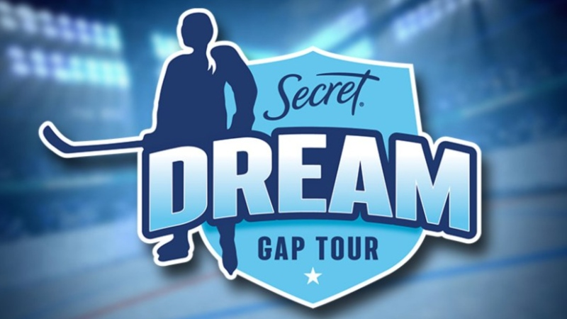 The Secret Dream Gap Tour will take place in Calgary from May 24-30. (Professional Women's Hockey Players' Association)