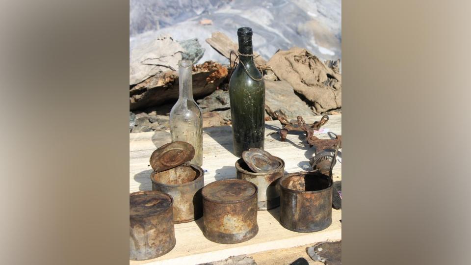 First World War artifacts