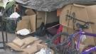 Sudbury homeless encampment. May 5/21 (Alana Everson/CTV Northern Ontario)