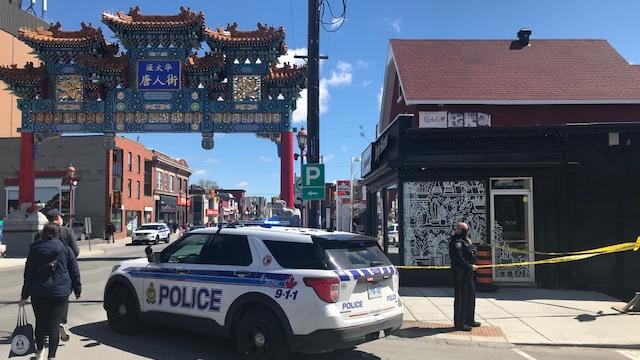 Shooting in Ottawa's Chinatown