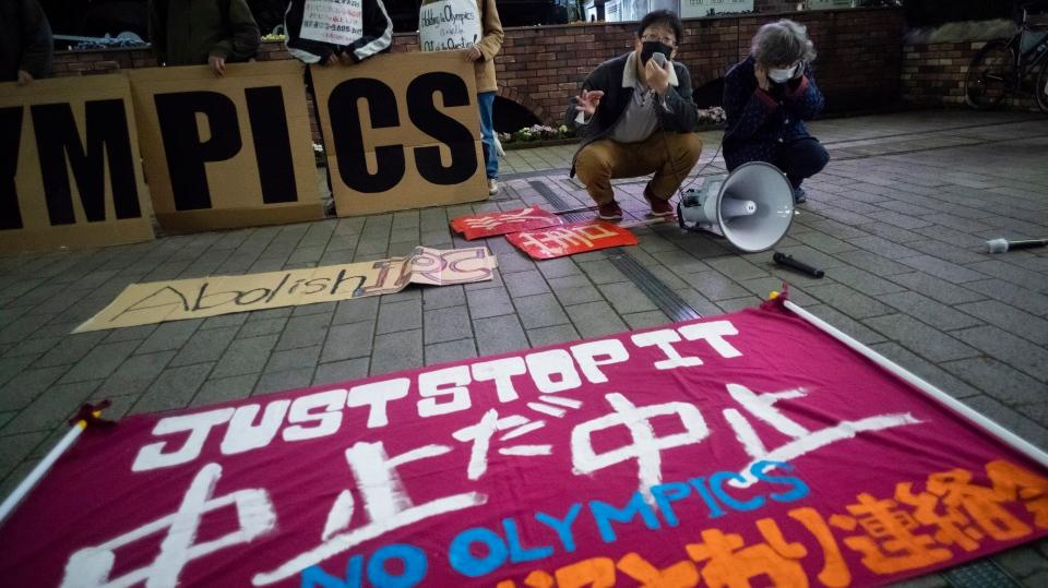 Olympics Tokyo Petition Drive