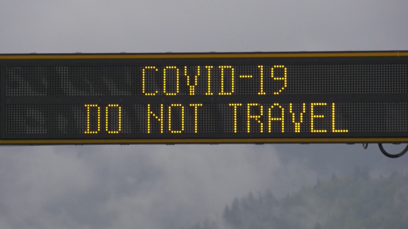 COVID-19 in B.C. - travel