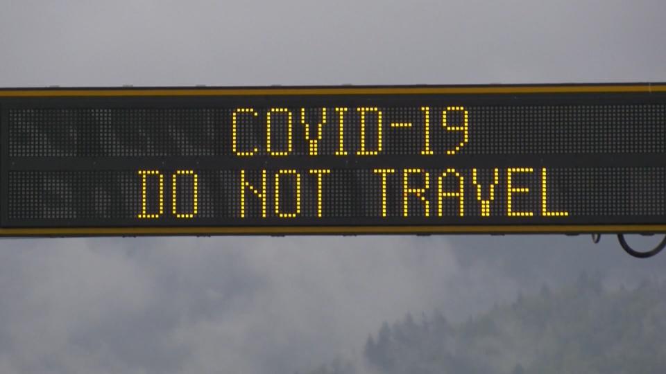 COVID-19 in B.C. - travel