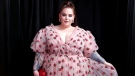 Plus-size model and body positivity activist Tess Holliday is talking about her disordered eating. (Rich Fury/Getty Images for The Recording Academy via CNN)