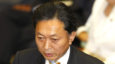 Japanese Prime Minister Yukio Hatoyama answers questions about budget requests for fiscal 2010 at a budget committee of lower house at parliament in Tokyo, Japan, Monday, Nov. 2, 2009. (AP Photo/Shizuo Kambayashi)