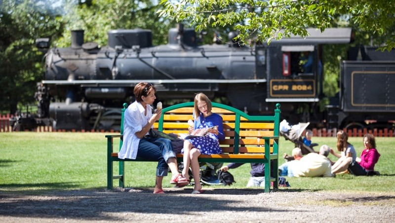 Heritage Park will open for the summer on May 22. Officials say there are lots of outdoor activities available for families to enjoy. (Supplied)