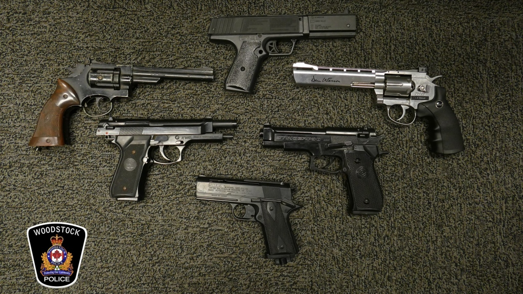 Firearms seized
