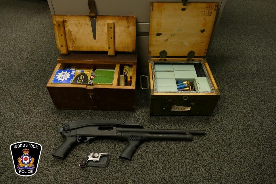 Ammunition seized
