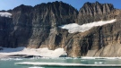 This Sept. 5, 2017 photo shows Grinnell Glacier in Glacier National Park in Montana. (AP Photo/Beth J. Harpaz)