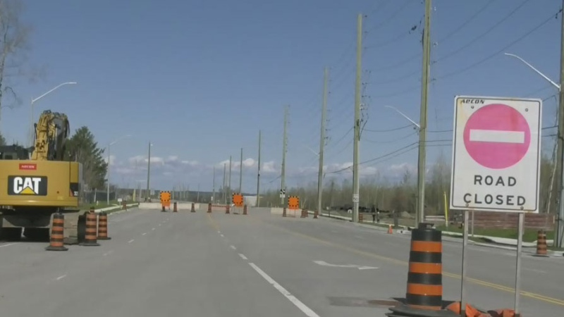Busy Barrie road construction season