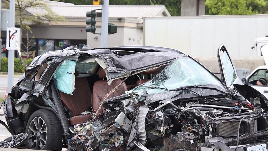 Surrey crash