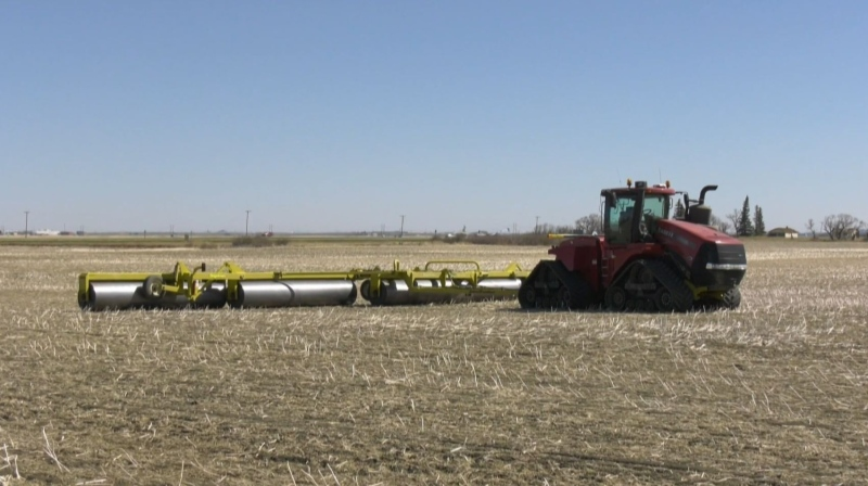 Sask. farmers get a start on seeding
