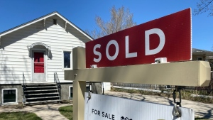 A new report suggests the red hot real estate market won't cool off anytime soon. (Cole Davenport/CTV Regina)