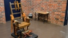 A March 2019 photo provided by the South Carolina Department of Corrections shows the state's electric chair in Columbia. (Kinard Lisbon/AP)