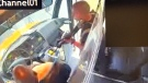 Man with rifle hijacks school bus full of children