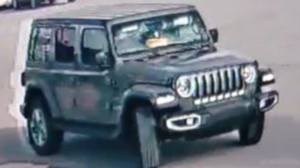 Jeep used in theft