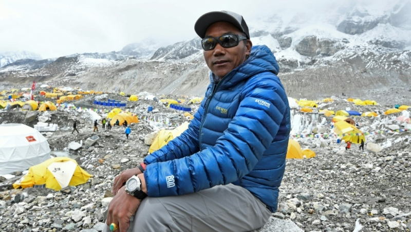 Sherpa first summited the 8,848-metre (29,029-foot) peak in 1994. (AFP)