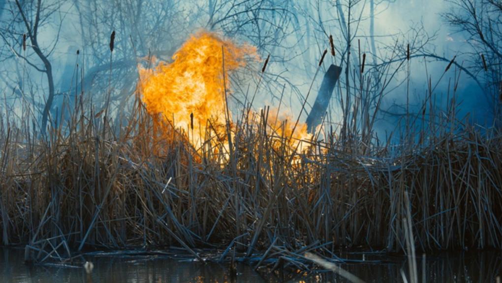 Seine River fire
