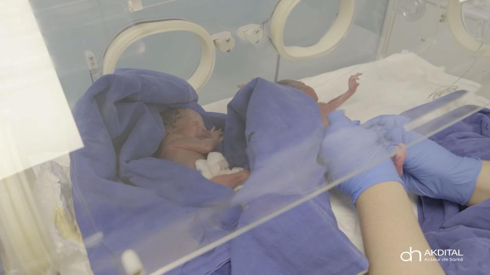 Tiny nonuplets born in Morocco