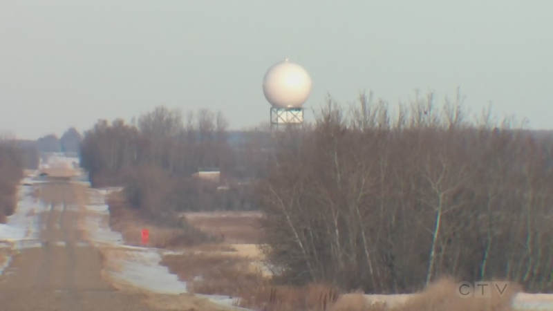 King City weather radar tower