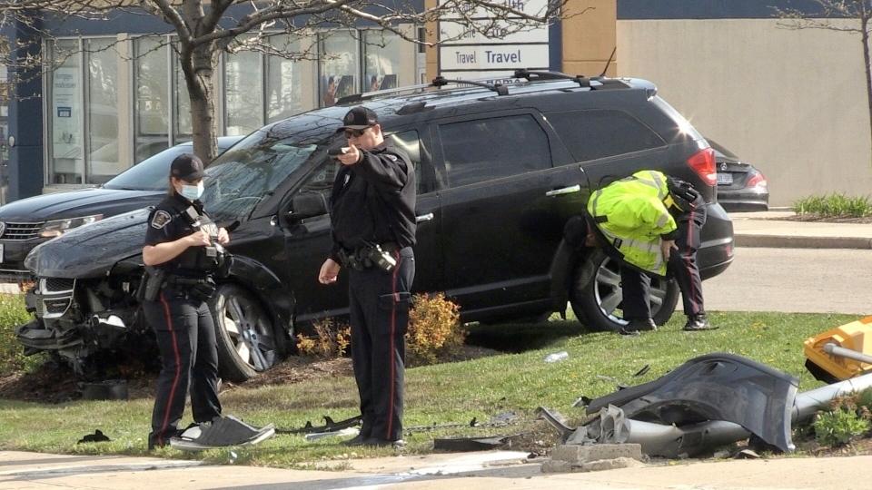 Police investigate crash