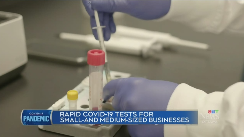 Rapid Covid-19 tests for Ottawa businesses