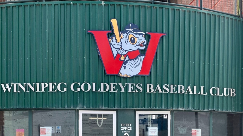 The Winnipeg Goldeyes will be playing home games in Jackson, Tennessee for the 2021 season. (Scott Andersson/CTV News)