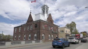 Pembroke City Hall. (Dylan Dyson/CTV News Ottawa)