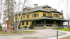 The Sir Harry Oakes Chateau, a heritage building, in the town of Kirkland Lake requires more than $1 million in repairs and upgrades and council recently sold the Heritage North Conference and Events Centre for $799,000. (Lydia Chubak/CTV News)